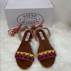 Steve Madden Shaney Tie Up Sandals